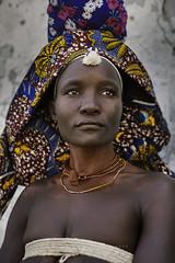 Mukubal woman. Virei, Namibe. Angola.