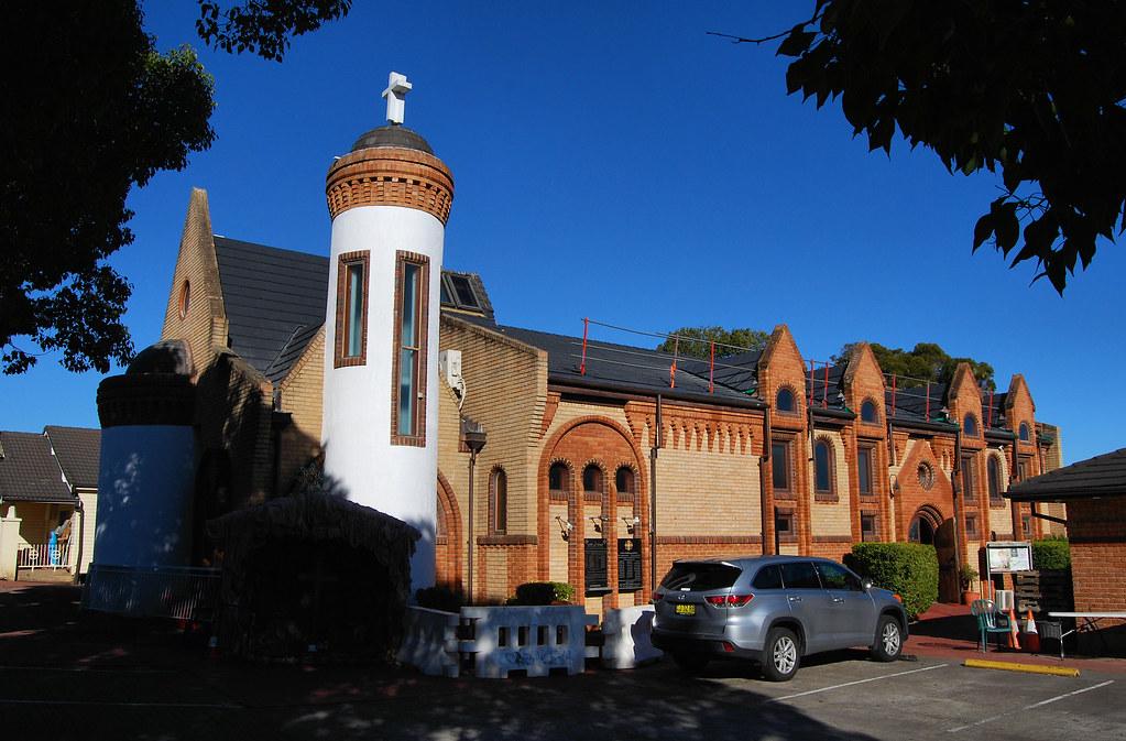 St Paul Coptic Orthodox Church, Guilford, Sydney, NSW.