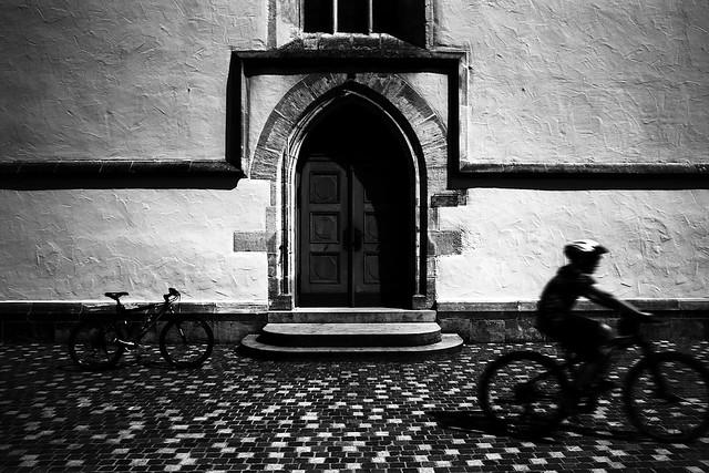 Two bikes (Leica M6)