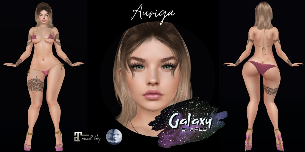 Auriga Shape for Genus Baby Face W001 by Galaxy Shapes