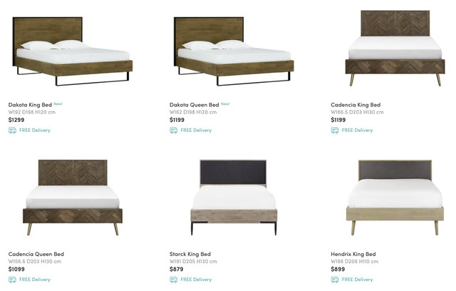 hipvan bed frames