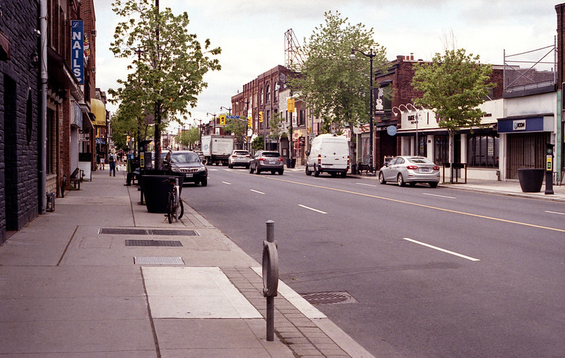 Dundas West in the Junction
