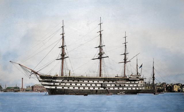 HMS Britannia (ab.) 1862