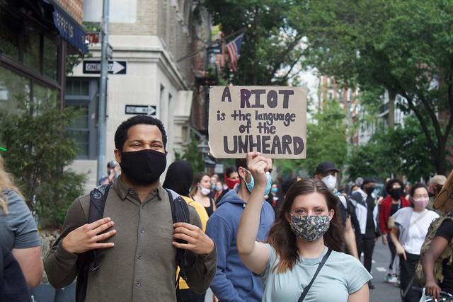 Black Lives Matter Stonewall W Village June 2
