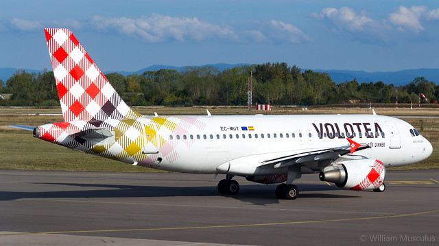 Airbus A319-111 EC-MUY Volotea Airlines