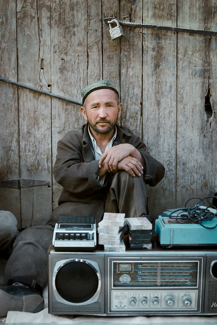 Vendor, Kashgar - Sept 1986