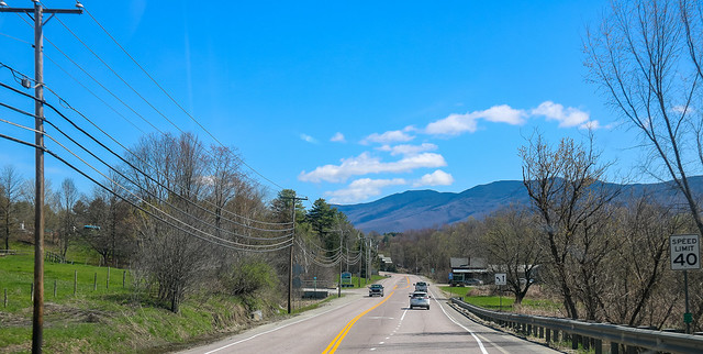 on the road to stowe vermont