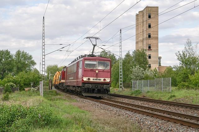 155 016 CLR - Cargo Logistik Rail-Service GmbH | Röblingen am See | Mai 2020
