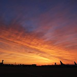 4. Juuni 2020 - 4:42 -  sunrise over Cleveland Hopkins Airport  this morning