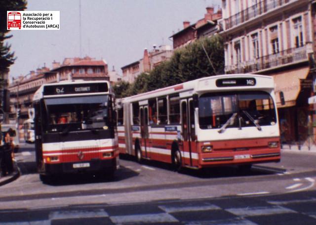 Renault SC10 Restylée 1989 & Heuliez MB 0305G