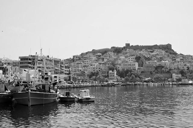 Kavala in Black & White