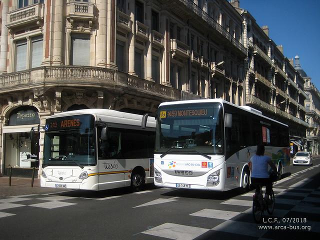 Heuliez GX 427 & Iveco Evadys
