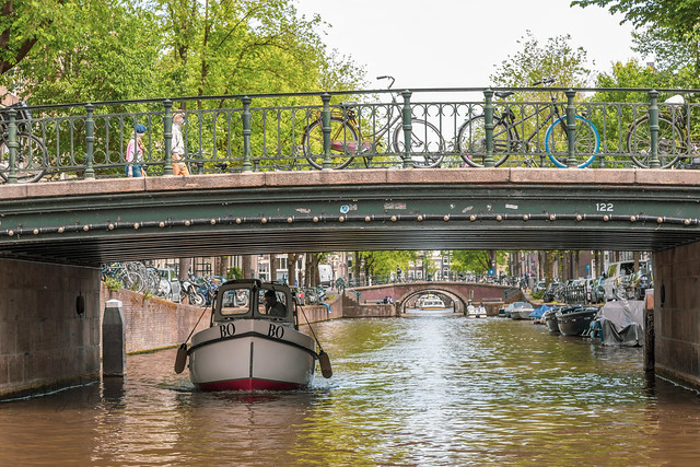 Armchair Traveling - Bridges, Boats, Bikes & Canals in Amsterdam