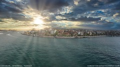 A drone shot of the Asian side of Istanbul and I don't even own a drone!