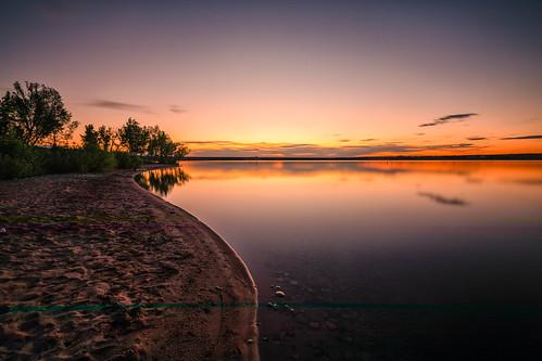 sunrise dawn daybreak landscape beach clouds lakechatfield chatfieldstatepark colorado le longexposure reflections