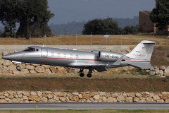 VistaJet Learjet 60 OE-GVQ GRO 27/07/2012