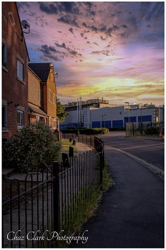 sunset walk dogwalk pslrcc sky amazingsky handheldphotography nikond500 nikon20mmf18