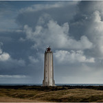 12. September 2019 - 16:54 - The rocket-shaped lighthouse at Malarrif, on the south west edge of the Snæfellsnes peninsula in Iceland