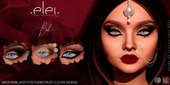 .E l e i. - Bel (Eyemakeup) for Tlalli India Edition.