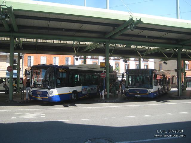 Irisbus Citelis 12 & Heuliez GX 327
