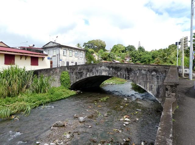 Martinique - St. Pierre - Old Stone Bridge