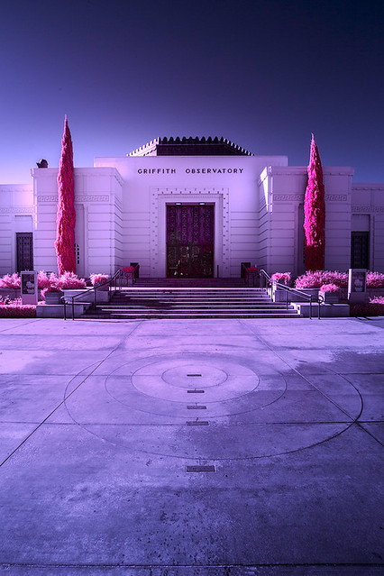 Griffith Observatory infrared, spring of 2018