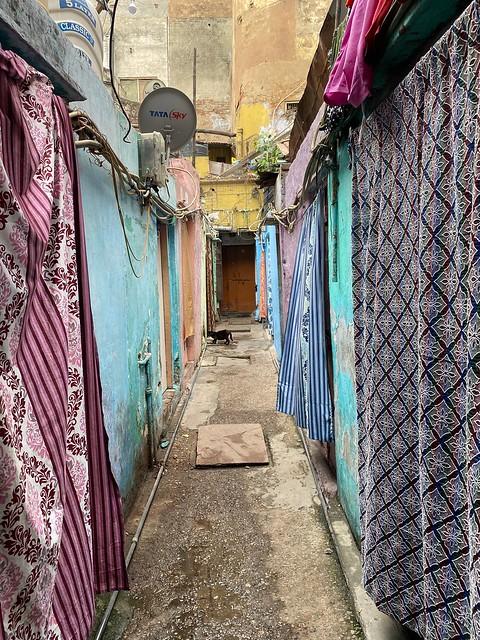 City Landmark - A Light Blue Mansion, Pahari Rajaan