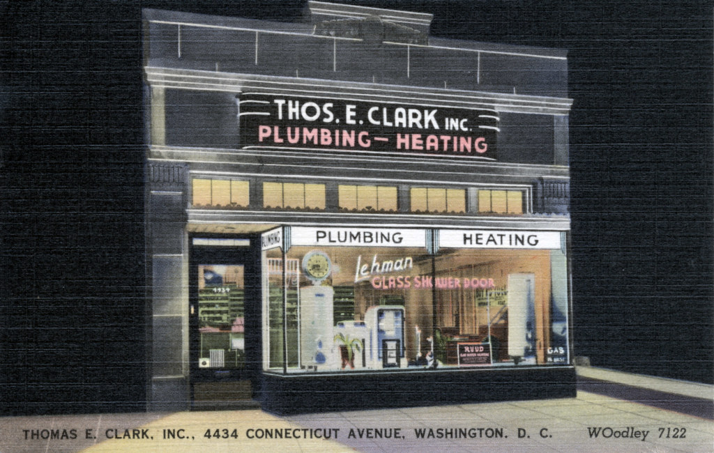 Thomas E Clark Plumbing and Heating (c. 1951)
