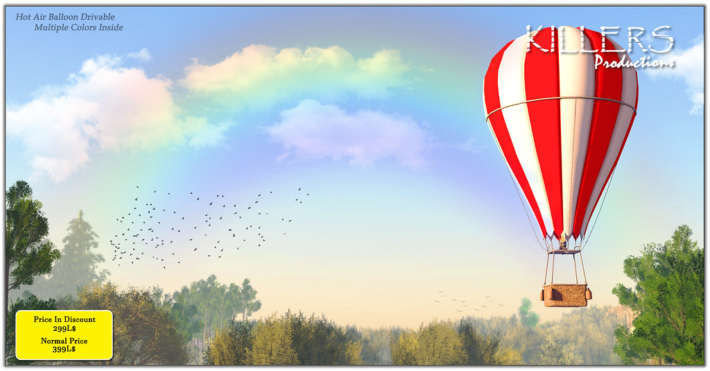 """Killer's"" Hot Air Balloon On Discount @ Cosmo Starts from 1st June"