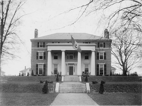 Alpha Delta Phi House Exterior