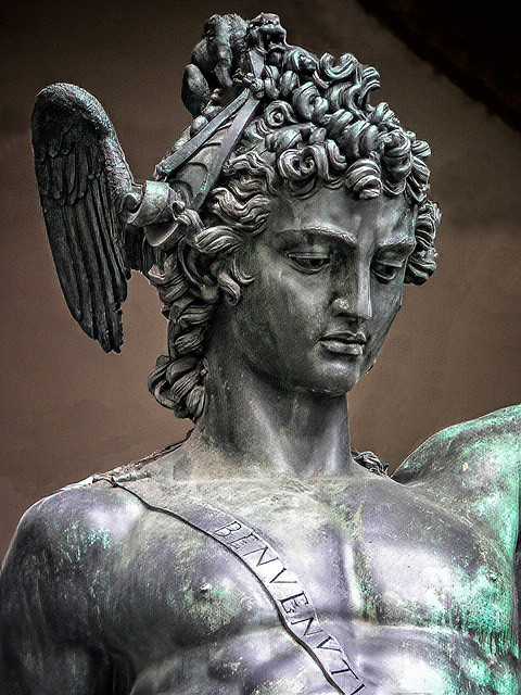 Perseus with the Head of Medusa by Benvenuto Cellini  1545