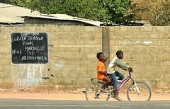 Gambia- Europa league near Bakau