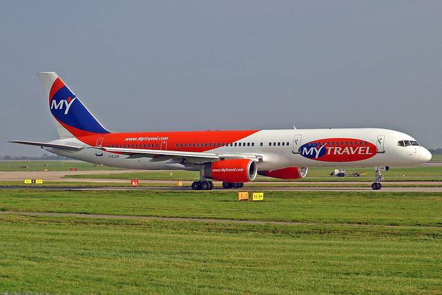 My Tavel Boeing 757-225 G-RJGR MAN 15-10-05
