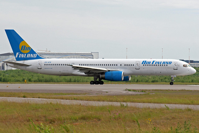 Air Finland Boeing 757-28A(ET) OH-AFK HEL 23-06-06