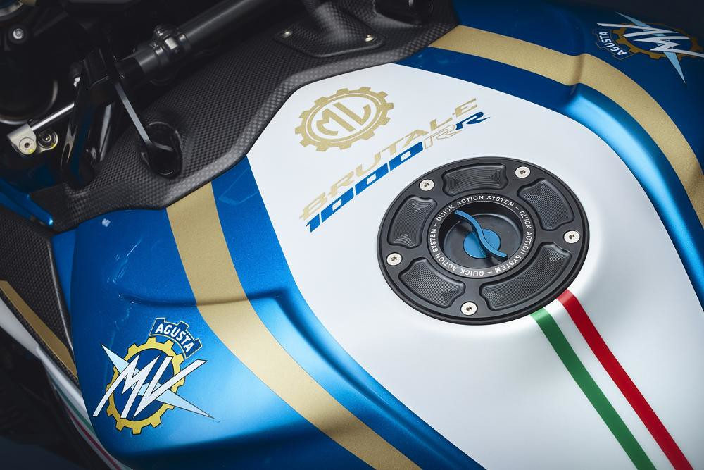MV Agusta Brutale 1000 RR Super Exclusive Tricolor