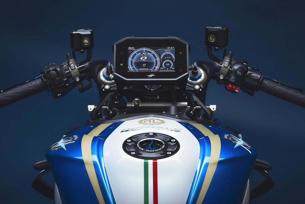 MV Agusta Brutale 1000 RR Super Exclusive Cockpit