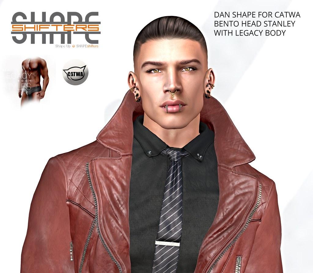 [SHAPEshifters] DAN SHAPE FOR CATWA HEAD STANLEY & LEGACY BODY