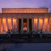 Blue Hour at the Lincoln Memorial