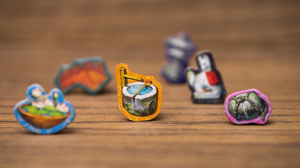los cien torii boardgame juego