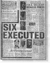 six executed by firing squad june 27 1979