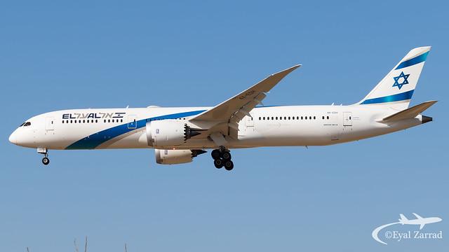 TLV - El Al Boeing 787-9 4X-EDH