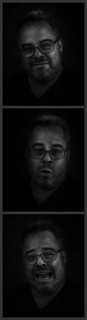 Auto-Portrait photo strip style