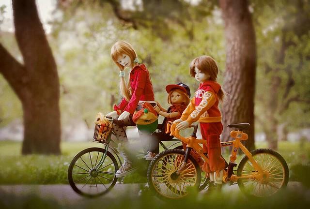 Girl-riders 🚲