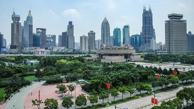Le Musée de Shanghai (Shanghai Bowuguan), Renmin Guangchang (Place du Peuple), Shanghai,Chine.