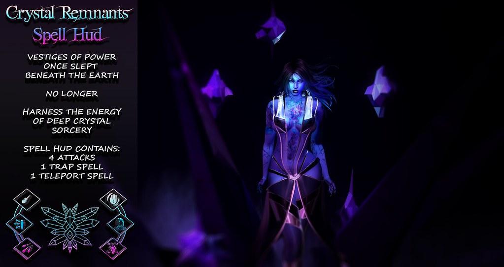Crystal Remnants Spell Hud