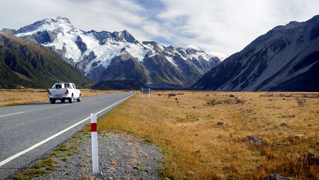 Mountain drive. NZ