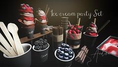 andika[ Ice cream party set]@ The Food Court