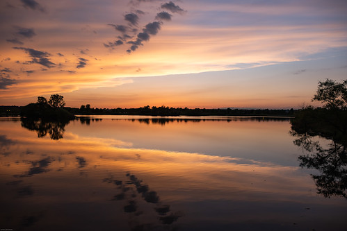 outdoors spring park sunset sky water june illinois 2020 glenview illinoistravel travelillinois