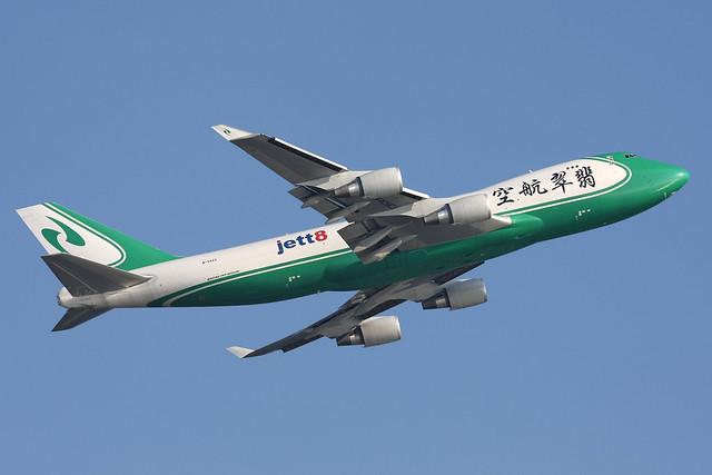 B-2423, Boeing 747-400F, Jade Cargo/Jett8, Hong Kong
