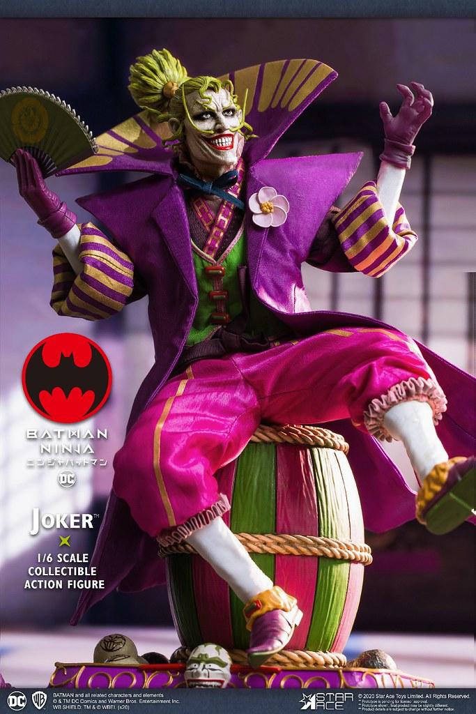 第六天魔王狂妄再來! Star Ace Toys《忍者蝙蝠俠》戰國小丑 (Lord Joker) 1/6 比例人偶 普通版/豪華版